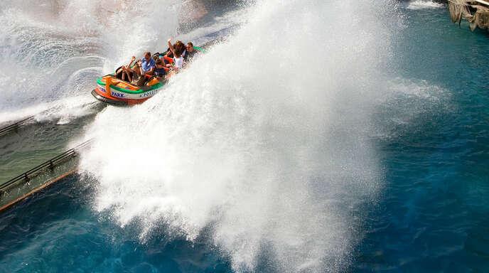 Das Foto zeigt nicht den beschrieben Vorfall, aber die Bahn »Poseidon«.