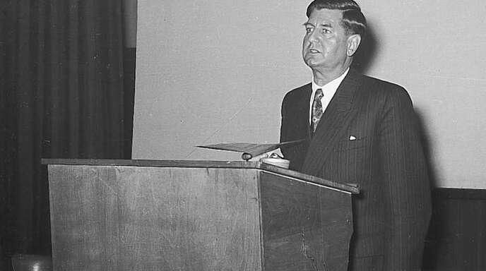 Bürgermeister Ernst Marcello war einst sehr umstritten in Kehl.