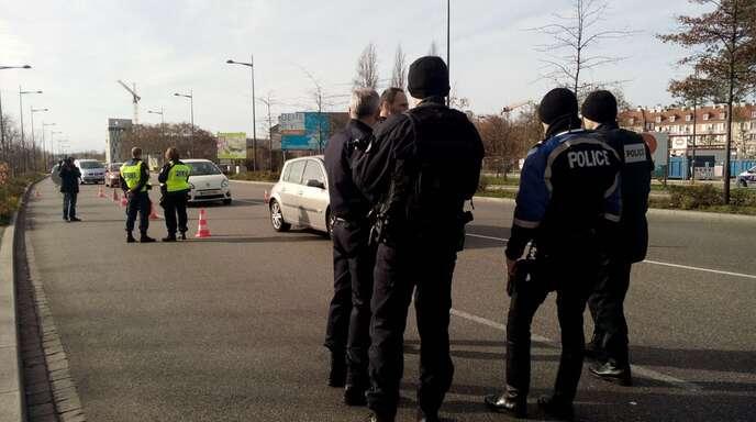 Nach Terroranschlägen Grenze Kehl Straßburg Kontrolliert