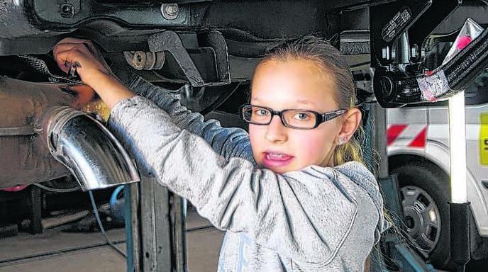 Mädchen mit technischen Berufen vertraut machen, das ist das Ziel der »In-Via-Girls'-Day-Akademie«.