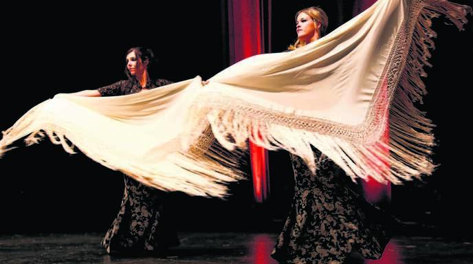 Auch Flamenco war auf der Bühne zu sehen.