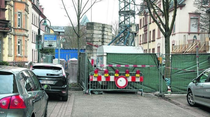 Bauunternehmen Offenburg offenburg friedrichstraße seit einem jahr gesperrt offenburger