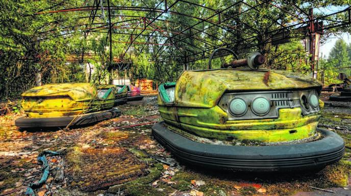 Der Vergnügungspark in Prypjat wurde nie eröffnet: Die Stadt wurde nach dem Super-GAU im Kernkraftwerk Tschernobyl evakuiert. Der Offenburg-Zunsweierer war in der Todeszone und hat starke Motive mitgebracht.