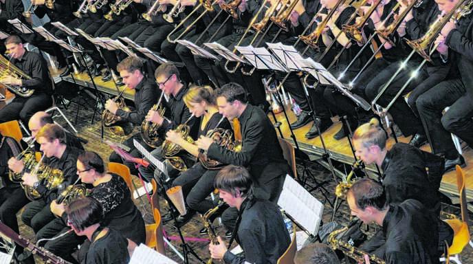 Das Sinfonische Verbandsjugendblasorchester Ortenau (SVJBO) verzauberte die Zuhörer in Friesenheim.