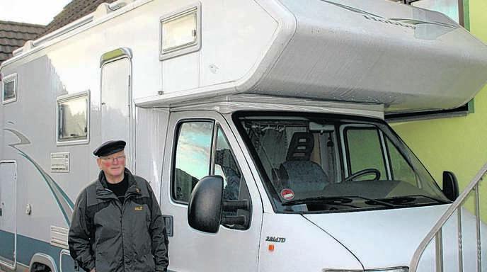 Wenn Klaus Huser und seine Leni die Reiselust packt, dann fahren sie in ihrem Wohnmobil los. Auch sonst hat der Rentner einiges zu tun den Tag über.