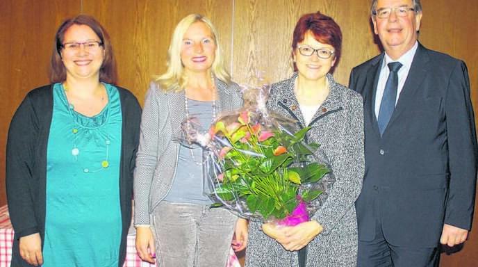 Über die Flüchtlingsproblematik sprach die Europaabgeordnete Inge Gräßle (2. v. rechts). Eingeladen hatten CDU-Landtagsabgeordneter Willi Stächele und Sabine Denz (Frauenunion Kehl, links) sowie Birgit Wild-Peter (Frauen-Union Acher-Renchtal).
