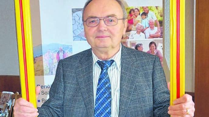 Norbert Roß (73) schätzt an seinem Heimatort Heiligenzell den »dörflichen Charakter«.