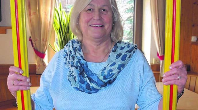 Annemarie Adam (70) fühlt sich am wohlsten, wenn sie ihre Lieben um sich hat.