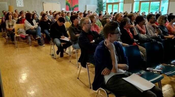 Großes Interesse gab es im HFG-Forum beim Vortrag des Medienpädagogen Uli Sailer.