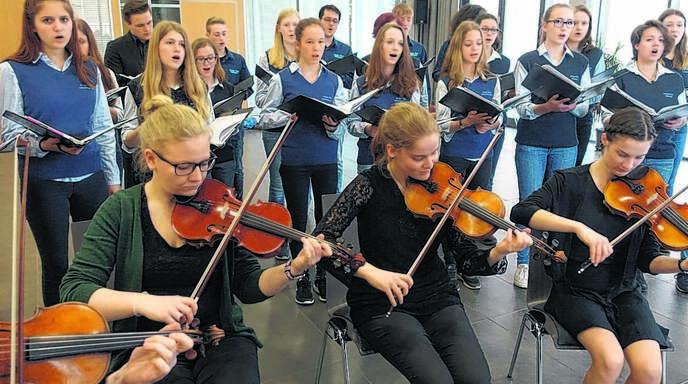 Großes Engagement beim Jungen Chor Achern-Fautenbach: In der kommenden Woche werden die Jugendlichen in Belgien für den Frieden singen.