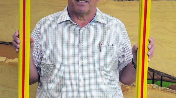 Franz Eckenfels (65) ist einer der Organisator des Jubiläumsfestes, das gestern Abend eröffnet wurde.