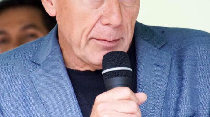 Jürgen Trittin (Grüne) hielt bei der Einweihung die Festrede.