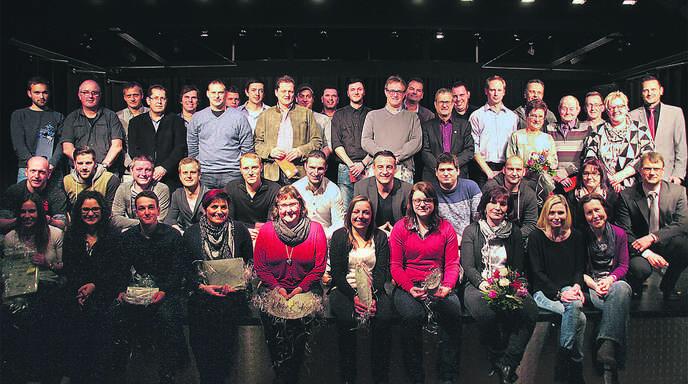 Die vielen ehrenamtlichen Helfer und Mitarbeiter des TuS Oppenau wurden am Freitagabend bei der Jahresabschlussfeier in der Günter-Bimmerle-Halle gewürdigt.