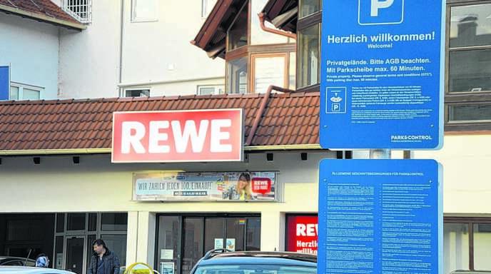 Achern Oberkirch Oberkirch Auf Rewe Parkplatz Parkverstoß Sollte