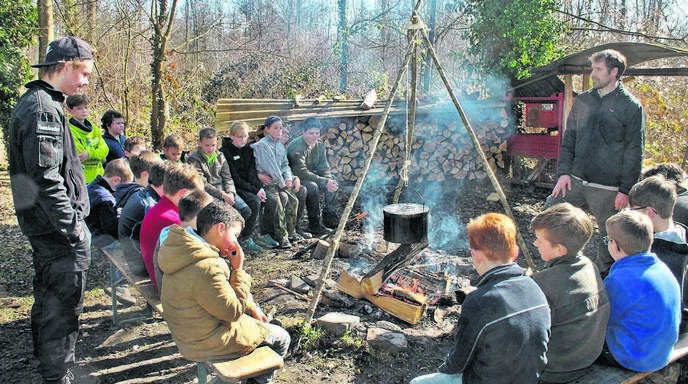 Die Waldläufer sind auch in diesem Jahr im Schwanauer Forst unterwegs. Der nächste Termin ist am Samstag, 1. April.