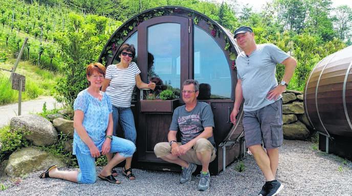 Achern / Oberkirch Sasbachwalden Schlafen im Weinfass ist besondere ...