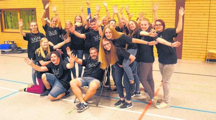 Die Vorfreude auf die Aufführungen des Musicals »Sugar« ist groß beim Jungen Chor Fautenbach.