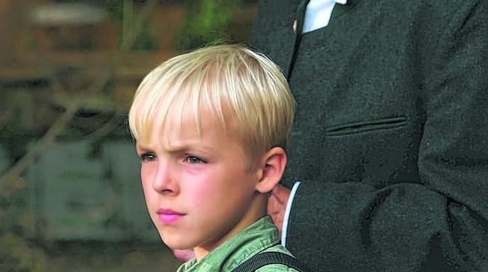 Der Sasbacher Walter Döbler und sein Enkel Tilman Döbler. Der Elfjährige ist auf dem besten Weg, ein Filmstar zu werden.