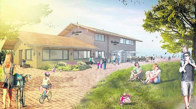 Mit der Grindehütte baut die Waldgenossenschaft Seebach auf der Hornisgrinde ein modernes Ausflugslokal.