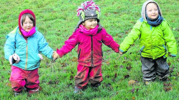 Die Nachfrage nach Plätzen im Naturkindergarten »Sonnenkinder« ist groß. Aktuell besuchen 18 Kinder die Einrichtung im Sendelbach bei Lautenbach.