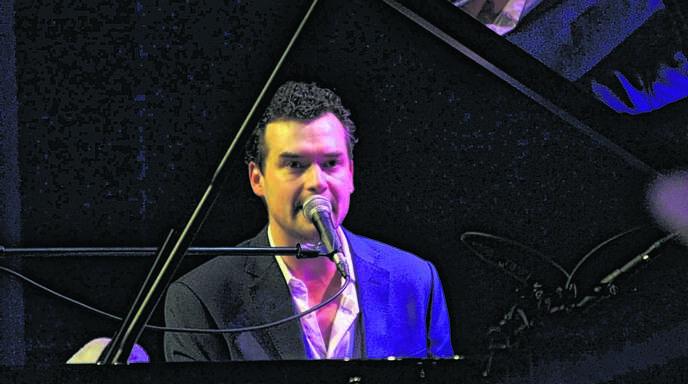 Ein Hexer am Klavier: Michael Kaeshammer.