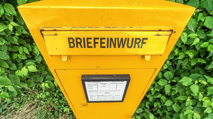 Briefkastenleerung Post