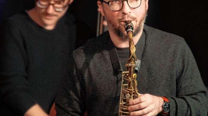 Johannes Ludwig beim Auftritt in Lahr.