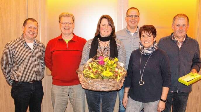 Der Bauernmarktverein ist unter neuer Leitung: von links Dietmar Ritter, Helmut Müller, Gisela Huber, Markus Schindler, Anneliese Sturm und Josef Sester.