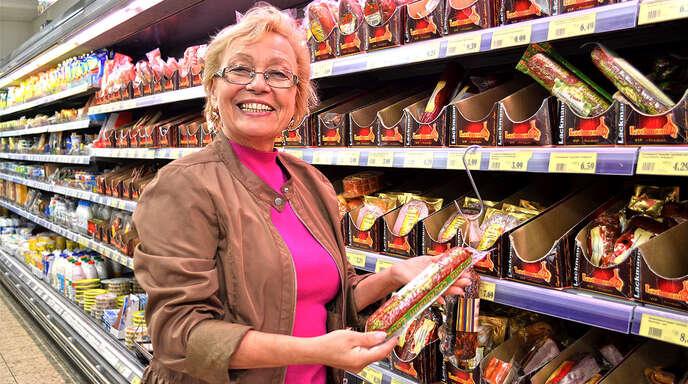 Lebensmittel, die an die alte Heimat erinnern: Olga Weber-Oldenburg betreibt seit 2005 das Lebensmittelgeschäft Markolo. Zum Klientel gehören vor allem im Raum Achern wohnende Russlanddeutsche, aber auch Osteuropäer insgesamt.