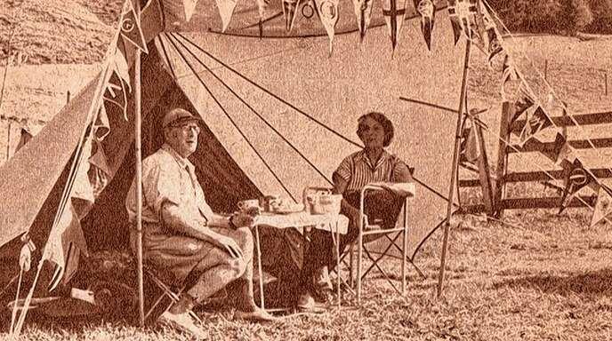 Als erste Deutsche Camping-Clubber zeltete 1958 ein Ehepaar aus München auf dem Campingplatz in Kehl.