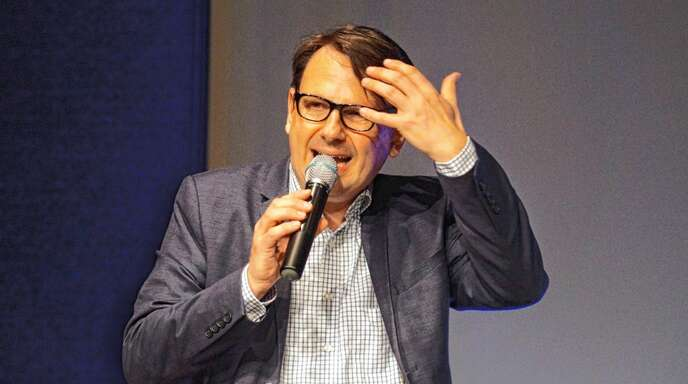 Sebastian Schnoy kam im Rahmen der »Europawoche 2018« nach Oberkirch.