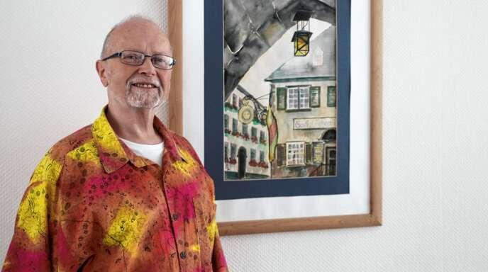 Die Motive für seine Kunst findet Uli Hölscher im Renchtal und Umgebung.