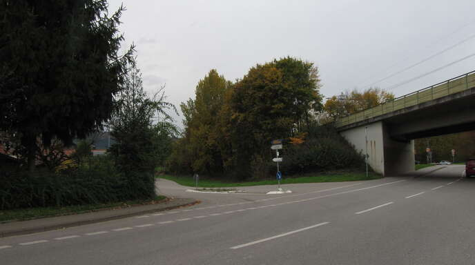 Die Prinzbacherstraße ist die eigentliche Zufahrt ins Interkommunale Gewerbegebiet....