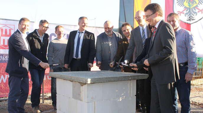 Bauunternehmen Offenburg offenburg gengenbach grundsteinlegung der erweiterung des