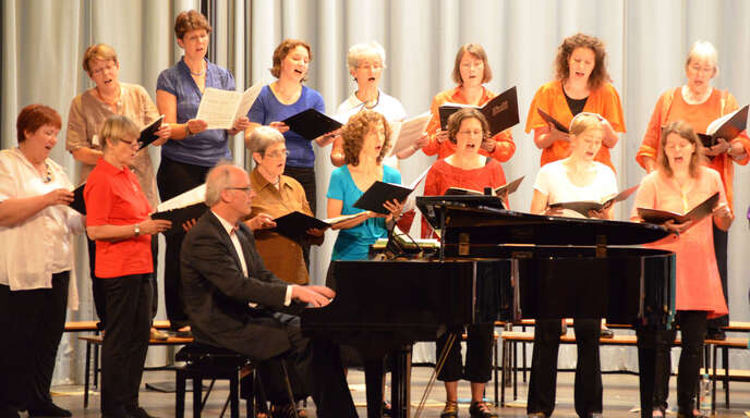 Beeindruckende Auftritte in Offenburg und Wolfach: Der Kammerchor Offenburg.