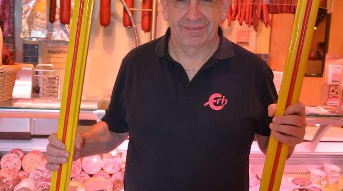 Karl Erb (62) fühlt sich seinem Heimatort Friesenheim unter anderem über Vereine eng verbunden.