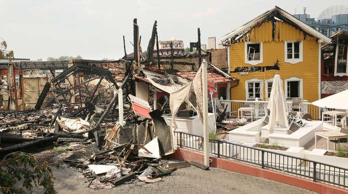 Ortenau Nach Dem Brand Zerstörte Piraten Wie Es Im Europa Park