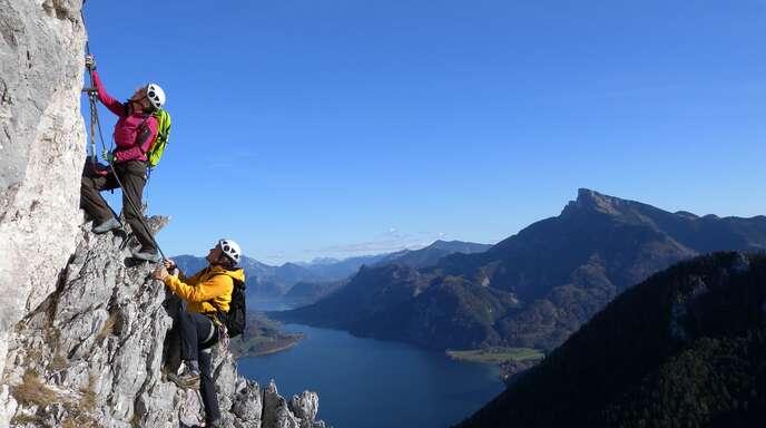Klettersteig Schwarzwald : Klettersteige für anfänger fünf touren spaß und genuss