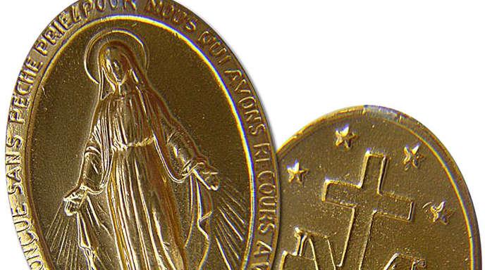 Die Medaille.