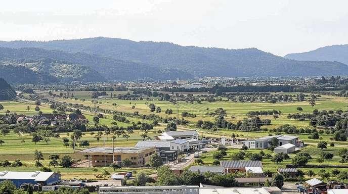 Maria Benz - Das Interkommunale Gewerbegebiet in Steinach wächst zusehends – auch wenn im vergangenen Jahr etwas weniger Flächen veräußert wurden als geplant.