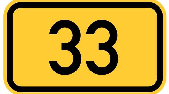 Sperrung B33