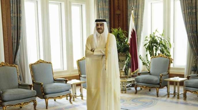 Der Emir von Katar, Scheich Tamim bin Hamad Al-Thani.