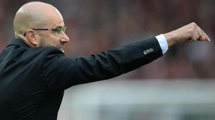Dortmunds Trainer Peter Bosz hofft auf einen Sieg zum Auftakt der Champions League.