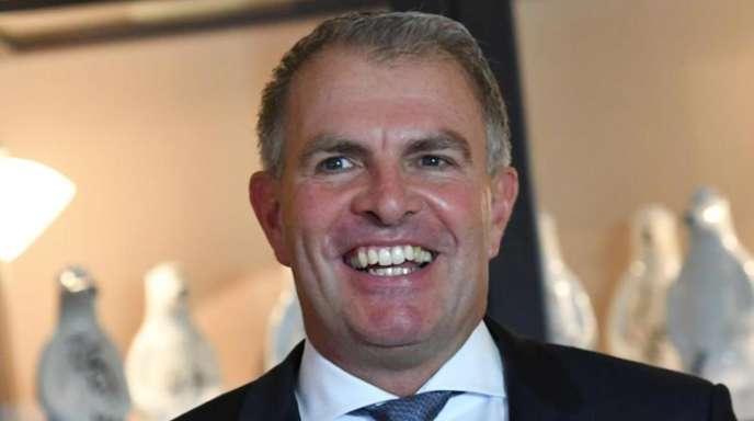 Er hat gut lachen:Lufthansa-Chef Carsten Spohr.
