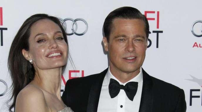 Angelina Jolie und Brad Pitt bei der Premiere von «By The Sea» in Hollywood.