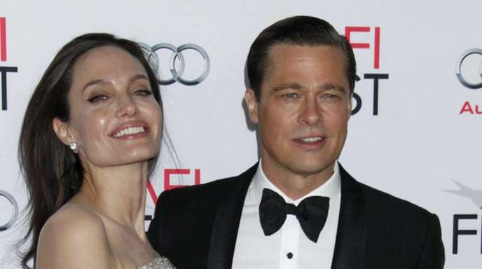 Angelina Jolie und Brad Pitt bei der Premiere von «By The Sea» in Hollywood.