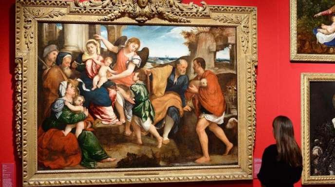 Blick in die Ausstellung «Charles II: Art & Power».