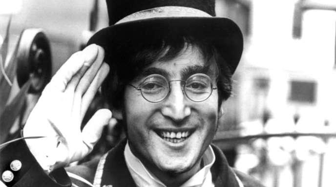 Der britische Musiker John Lennon im November 1966.
