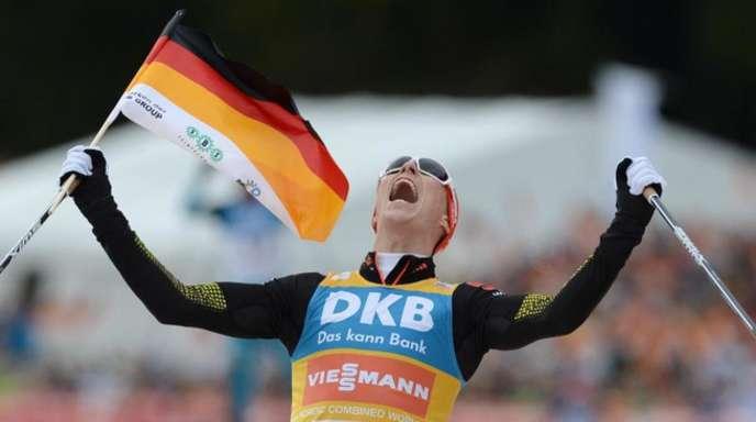 Der nordische Kombinierer Eric Frenzel wird bei der Olympia-Eröffnungsfeier der deutsche Fahnenträger sein.