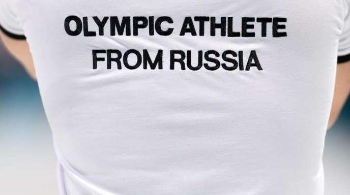 Russen nehmen als Team «Olympischer Athleten aus Russland» an den Spielen in Pyeongchang teil.